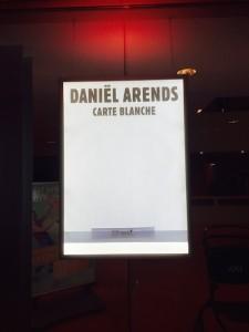 Daniel Arends - Carte Blanche poster-klein