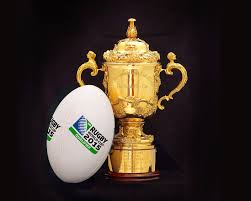 World Cup Rugby Ellis cup