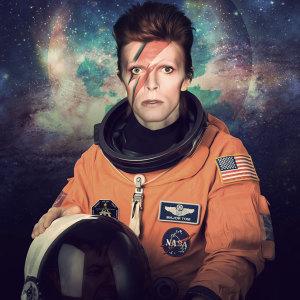 David Bowie Astronaut by Nicholas Redfunkovich