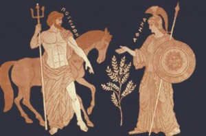 Athena & Poseidon
